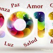 ¡Gracias 2012, Bienvenido, 2013!
